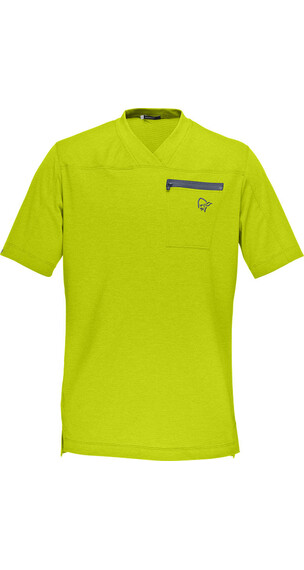 Norrøna fjørå equaliser lightweight T-Shirt Men Bitter Lime